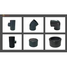 Accesórios de presión encolar PVC PN16 (0)