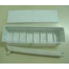 Caixa p/ pré-instalação ar condicionado c/ esgoto